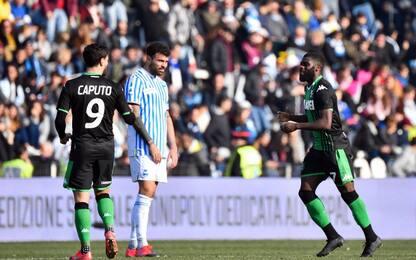 Il Sassuolo rimonta la Spal: a Ferrara finisce 1-2