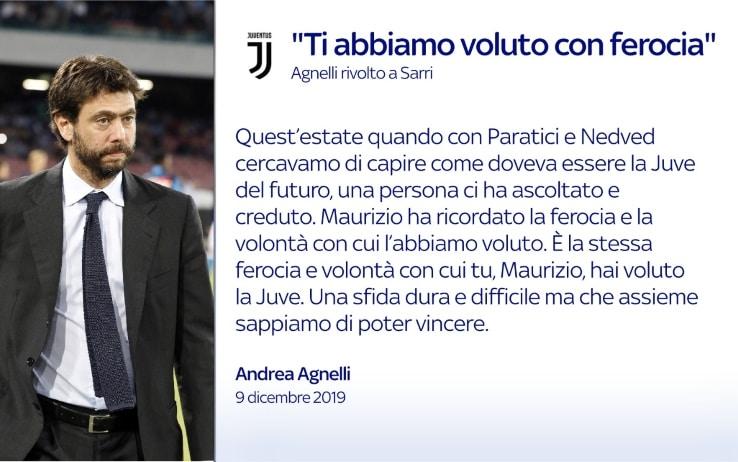 Agnelli Sarri