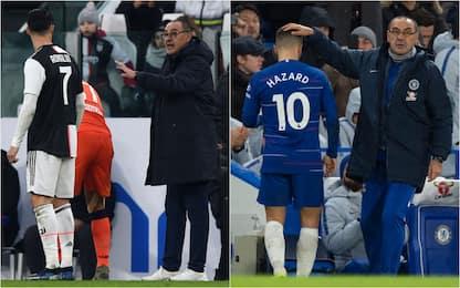 La Juve come il Chelsea: le analogie tra i Sarri