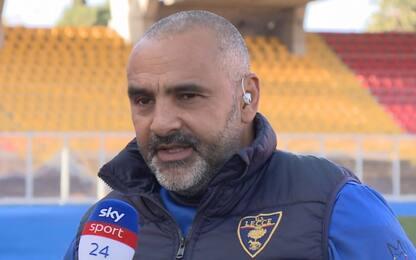 """Liverani: """"Futuro? Ora penso a salvare il Lecce"""""""