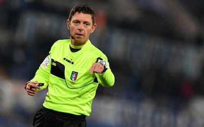 Rocchi per Lazio-Inter, Atalanta-Roma a Orsato