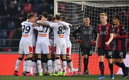 Colpo Genoa al Dall'Ara, Bologna battuto 3-0