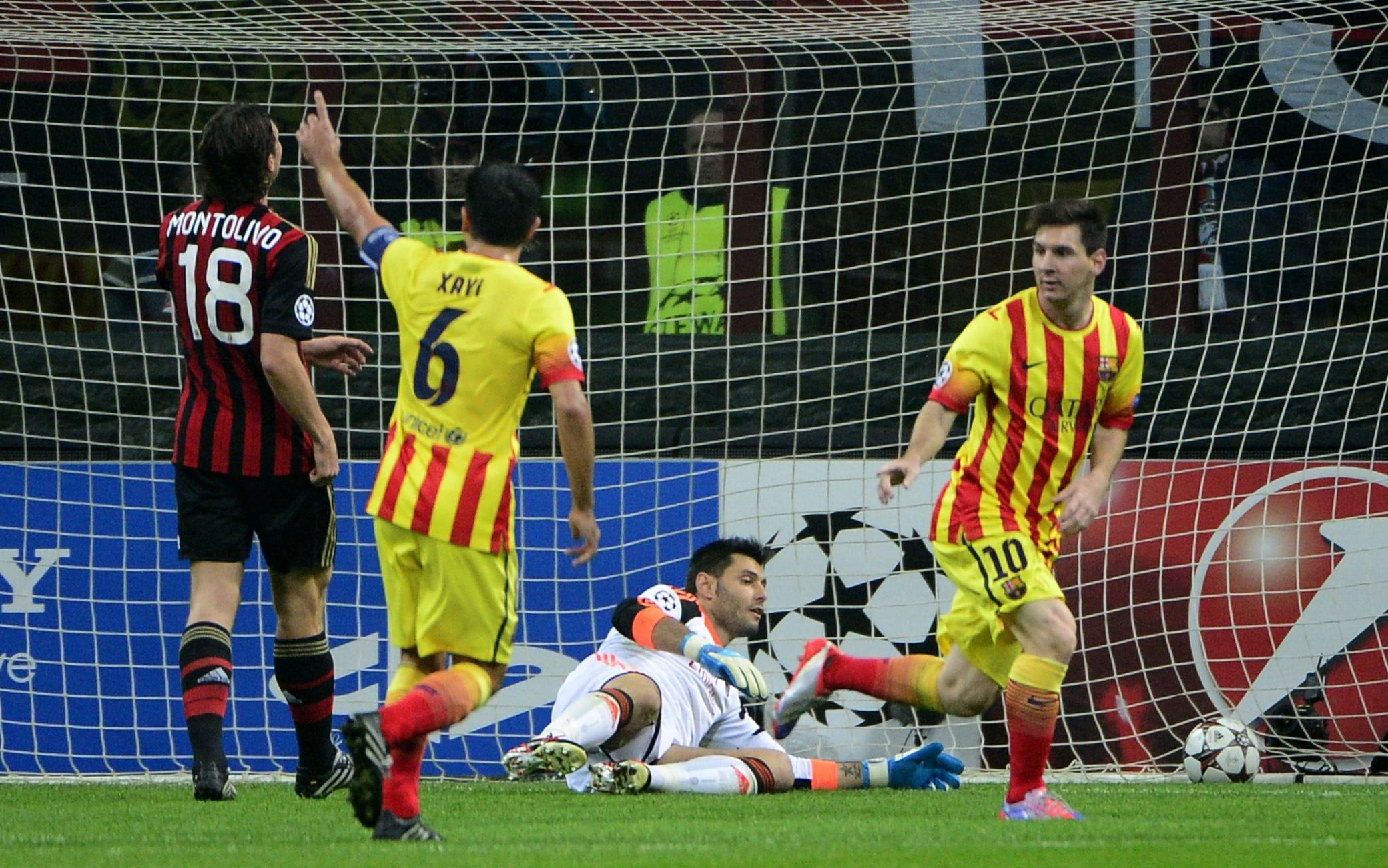 Il gol di Messi contro il Milan nel giorno della convocazione di Andrenacci