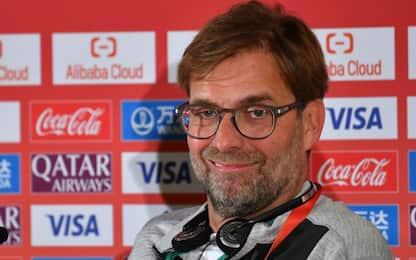 """Klopp: """"Scudetto? Lazio! Tifo per loro"""""""