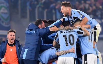 Rimonta Lazio, è 2° posto! Inter battuta 2-1