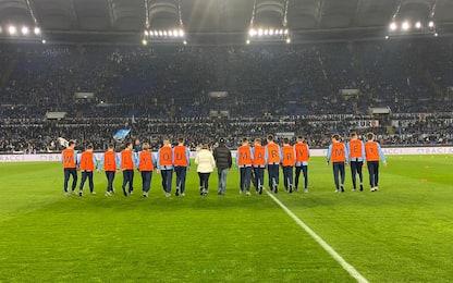"""""""Vuoi sposarmi?"""": la proposta prima di Lazio-Inter"""