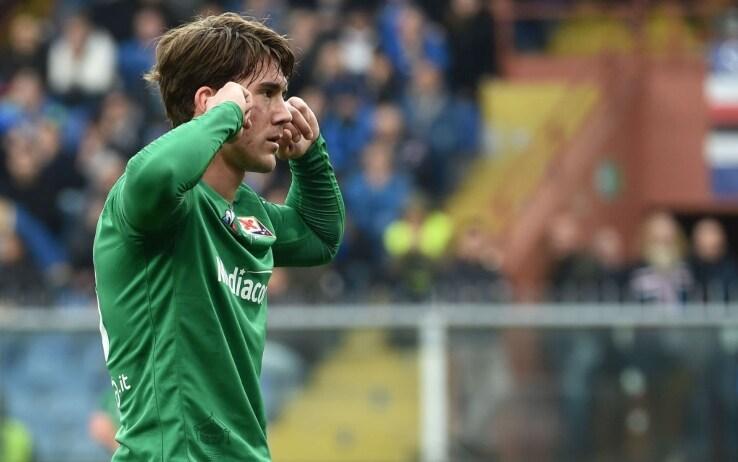 Sampdoria-Fiorentina, Castrovilli sgrida Vlahovic e gli 'toglie' un ...