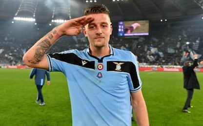 Milinkovic e i gol decisivi: SMS per lo scudetto