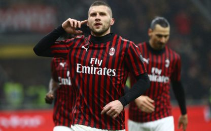 Milan in zona Europa: Toro ko, decide ancora Rebic