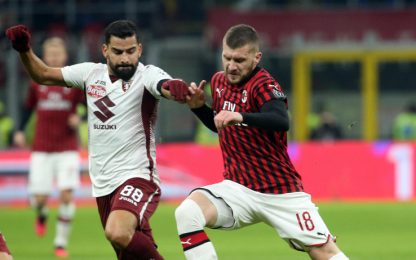 Milan-Torino, le probabili formazioni