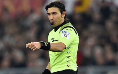 Calvarese per Juve-Inter, Roma-Lazio a Pairetto