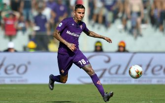 FLORENCE, ITALY - SEPTEMBER 14: Erick Pulgar of Fiorentina ACF  in action during the Serie A match between ACF Fiorentina and Juventus at Stadio Artemio Franchi on September 14, 2019 in Florence, Italy.  (Photo by Alessandro Sabattini/Getty Images)