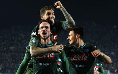 Insigne-Fabian, il Napoli ribalta il Brescia: è 6°