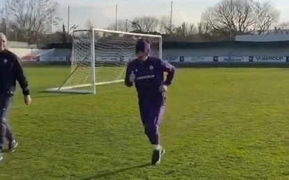 Ribery torna a correre: rientro sempre più vicino