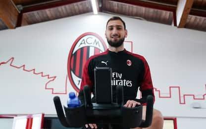 Donnarumma non si allena: col Genoa gioca Begovic