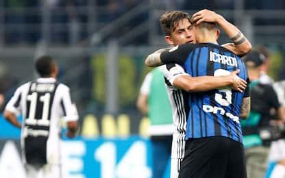 Juve-Inter, il derby d'Italia parla… argentino