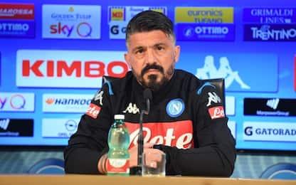 """Gattuso: """"Lozano out fa male, ma è una mia scelta"""""""