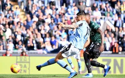 Lazio-Bologna 2-0 LIVE, raddoppia Correa