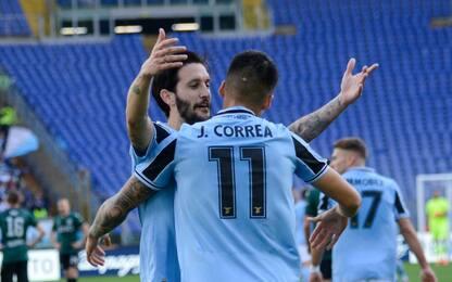 La Lazio vince e vola in testa: Bologna ko 2-0