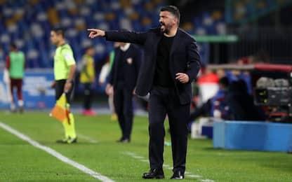 """Gattuso: """"Il Napoli è vivo. Rinvii? Non è giusto"""""""