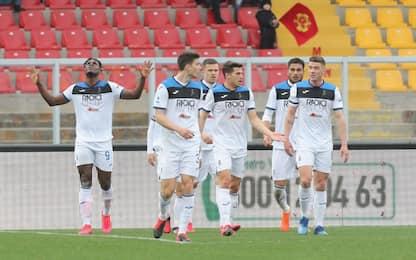 L'Atalanta è uno spettacolo: Lecce travolto 7-2