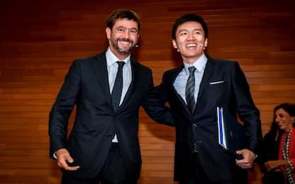 """Agnelli: """"Con Zhang stesse priorità"""""""