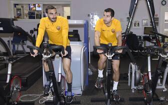 AS Roma, allenamento a Trigoria