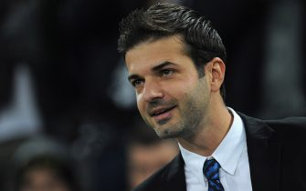 TURIN, ITALY - NOVEMBER 03:  FC Internazionale Milano head coach Andrea Stramaccioni looks on prior to the Serie A match between Juventus FC and FC Internazionale Milano at Juventus Arena on November 3, 2012 in Turin, Italy.  (Photo by Valerio Pennicino/Getty Images)