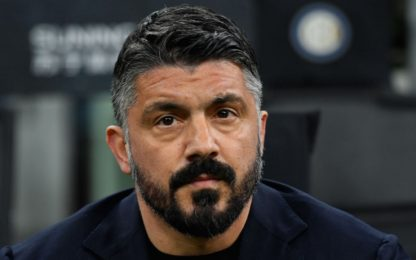 Gattuso, auguri a Diego e dribbling... sul rinnovo