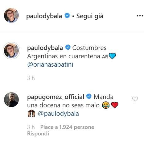 Commenti instagram