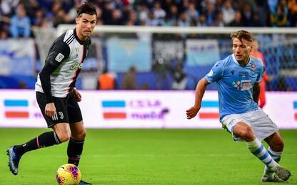 Serie A, duello Juve-Lazio nella top 11 di Opta