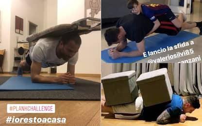 Torino, parte la sfida di Plank Challenge