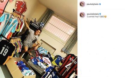 Dybala sfoggia collezione maglie: c'è José Mauri!