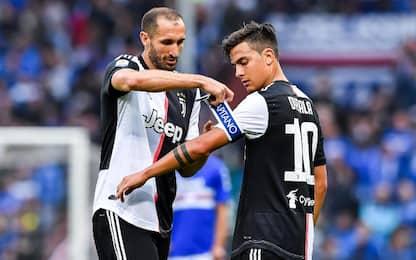 Dybala-Buffon-Chiellini, la Juve blinda i suoi big
