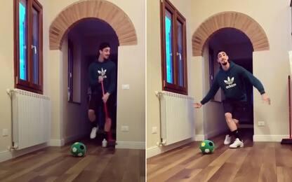 """""""Cenerentolo"""" Castrovilli: pulizie con il pallone"""