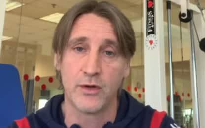 """Nicola: """"Che emozione applausi dopo ko con Lazio"""""""