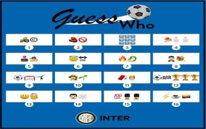 Giocatori come emoticons: il gioco-quiz dell'Inter