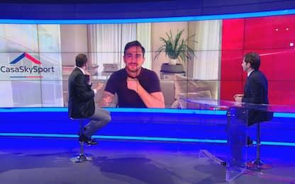 """Aquilani: """"La diretta con Totti? Chat fra amici"""""""