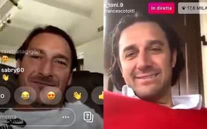 """Totti a Toni: """"Tornare alla Roma? Per giocare sì"""""""