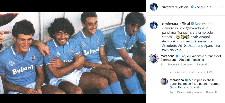 Instagram Ciro Ferrara