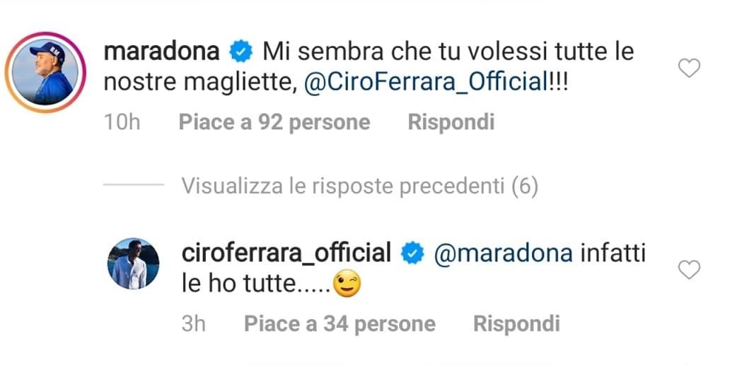 Ferrara-Maradona, commento