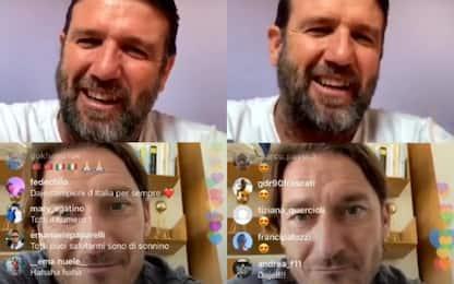 """Totti a Candela: """"La Roma è la mia seconda pelle"""""""