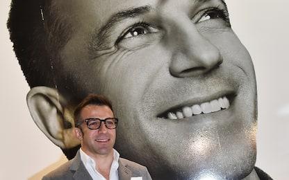 L'uomo e il campione dietro Alex Del Piero