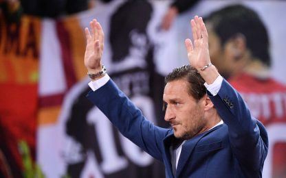 Totti day su Sky Sport, Francesco vede e ringrazia