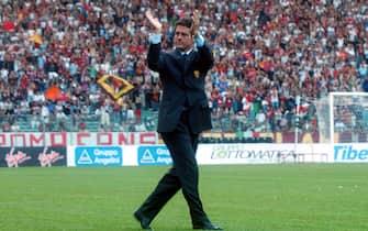 07/08/2001 ROMASPORT CALCIOPRESENTAZIONE AS ROMAFABIO CAPELLO© MICHELE RICCI \ LAPRESSE