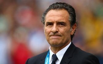 NATAL, BRAZIL - JUNE 24:  Head coach Cesare Prandelli looks on prior to the 2014 FIFA World Cup Brazil Group D match between Italy and Uruguay at Estadio das Dunas on June 24, 2014 in Natal, Brazil.  (Photo by Clive Rose/Getty Images)