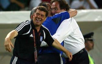 © Romina Baldasseroni / LaPresse25 - 06 - 2004  LisbonaSport  CalcioEuro 2004 in Portogallo         Francia - GreciaNella Foto: Otto Rehhagel