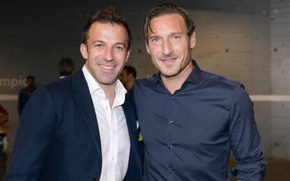 Del Piero e Totti, una Pasqua a #CasaSkySport
