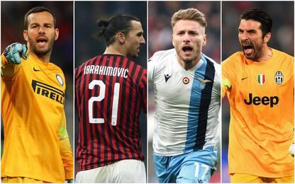Serie A, 11 record da battere quando si ripartirà
