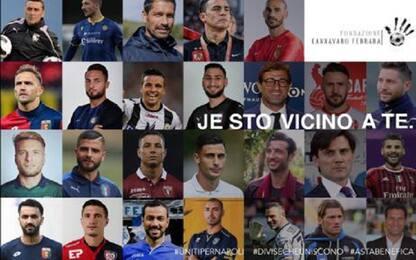 Ferrara-Cannavaro, raccolta fondi contro Covid-19
